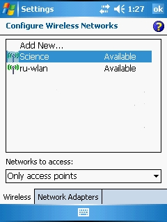 Configure Wireless Networks